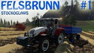 Farming Simulator 2019 | FS 19 | FELSBRUNN | Episode 1