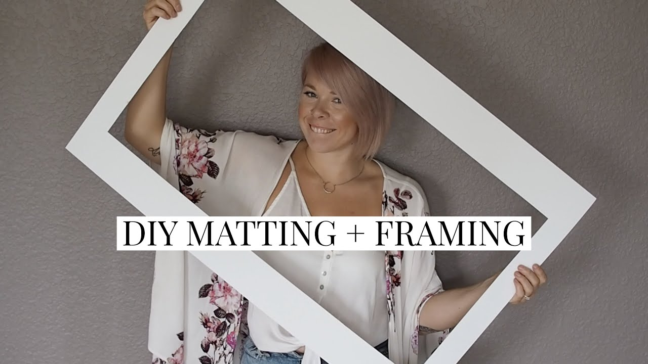 Diy Custom Matting Framing For You
