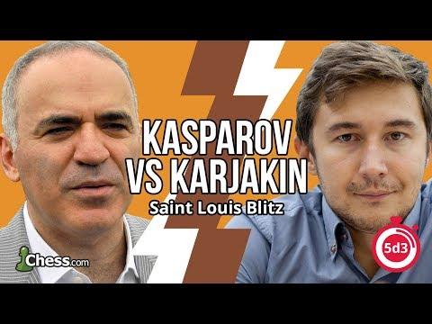 Blitz Chess Analyzed: Kasparov Plays The King's Gambit!