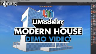 Modern House - UModeler Demo Reel