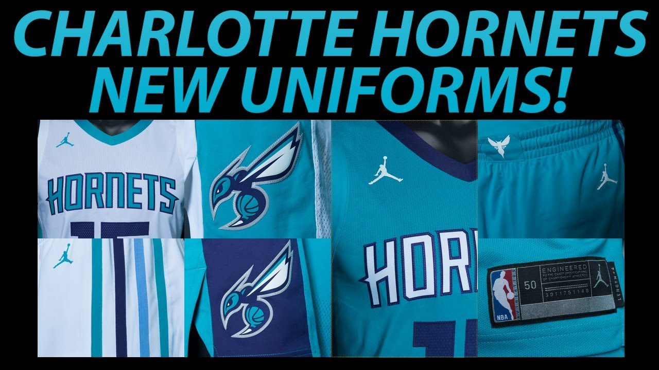 0bb12881ba6 CHARLOTTE HORNETS NEW UNIFORMS REVEALED | JERSEY REBRAND - YouTube