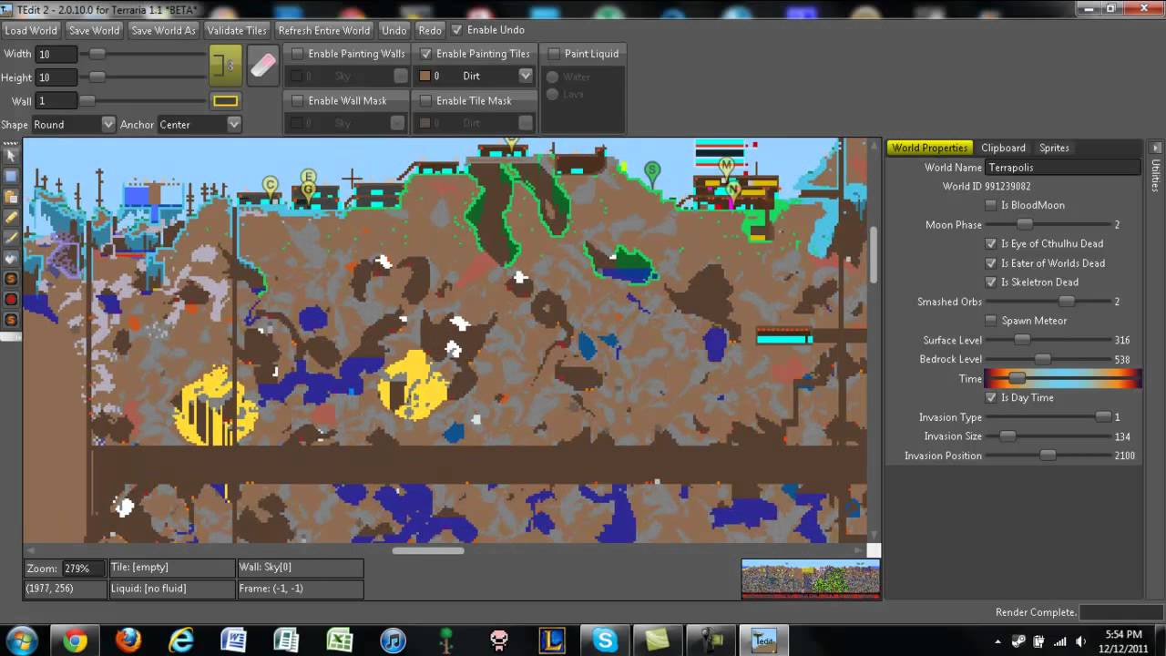 terraria how to get world editor
