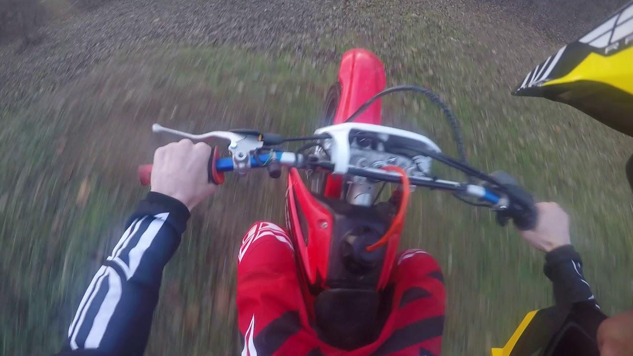 CRF230F Trail riding