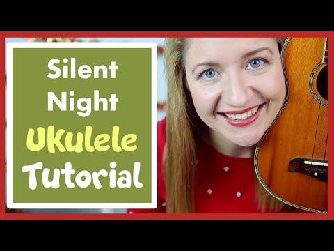 Silent Night (EASY CHRISTMAS UKULELE TUTORIAL)