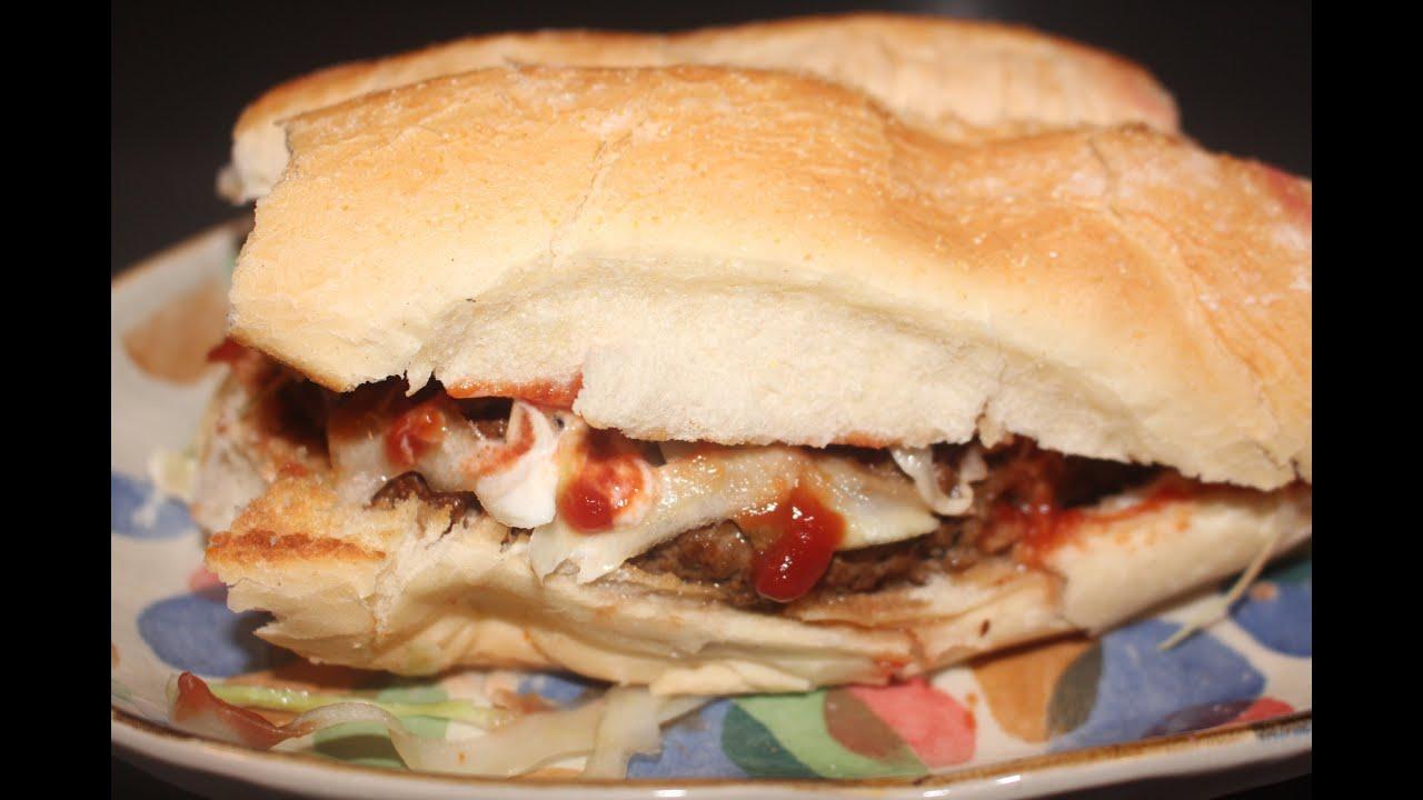 dominican chimichurri hamburger youtube