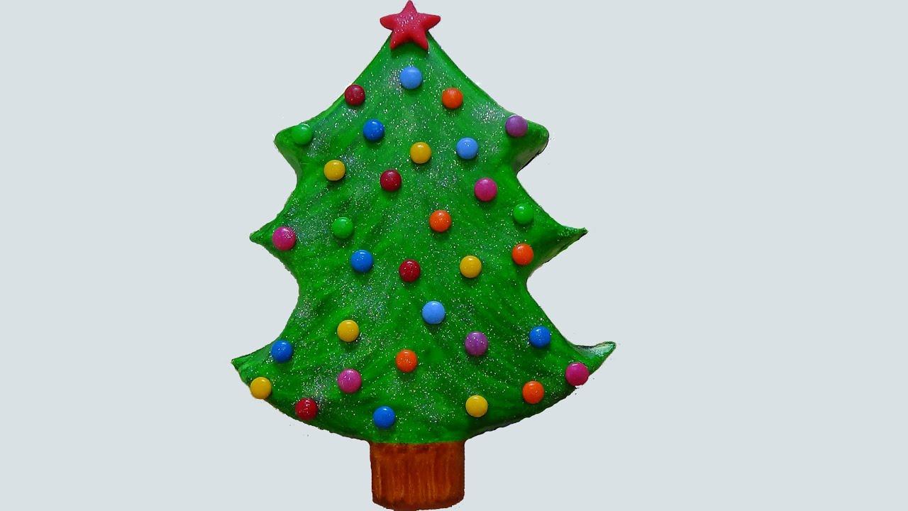 xmas tree cake - YouTube