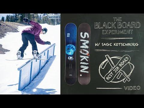 986baa5cb9b The Blackboard Experiment  2017 Snowboard Test - Best Jib Board  2017  Smokin Hooligan