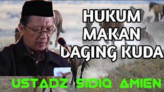 HUKUM MAKAN DAGING KUDA. Ust Sidiq Amin