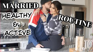 Our Married ACTIVE & HEALTHY Night Routine *Winter 2019*