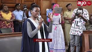 HALIMA MDEE baada ya Uchaguzi wa Naibu Meya DSM kuahirishwa