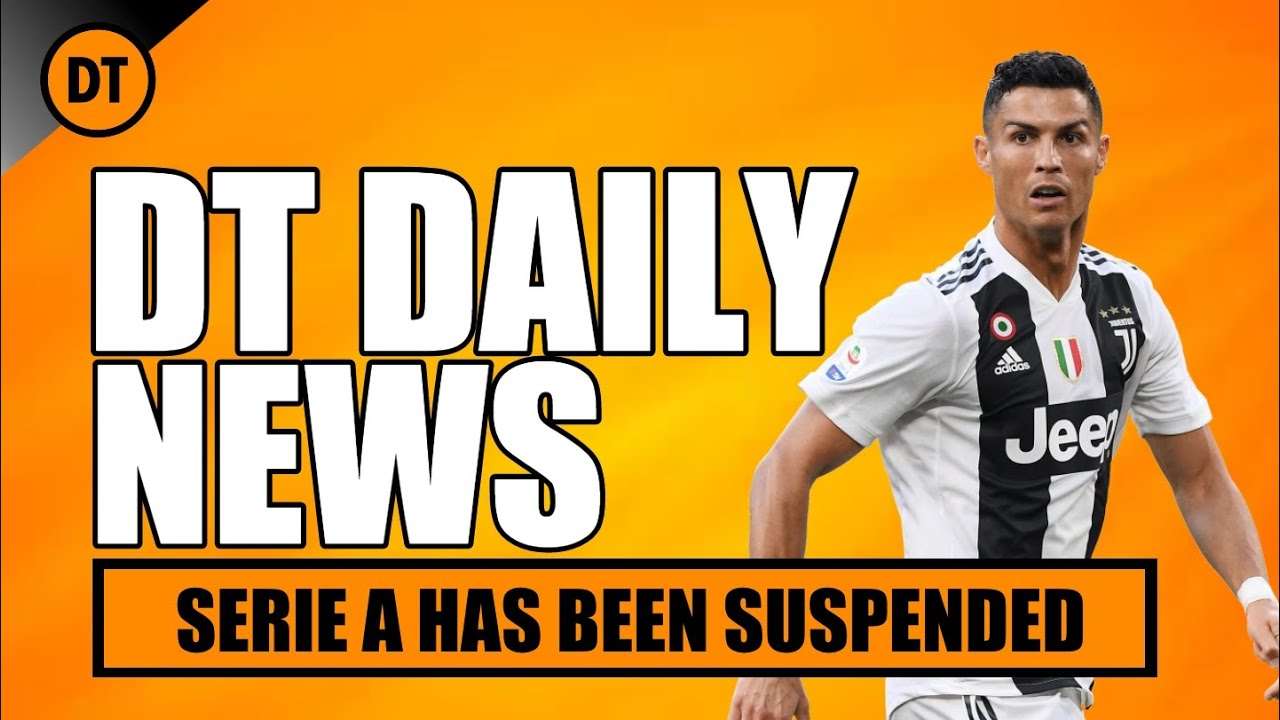DT DAILY   SERIE A HAS BEEN SUSPENDED