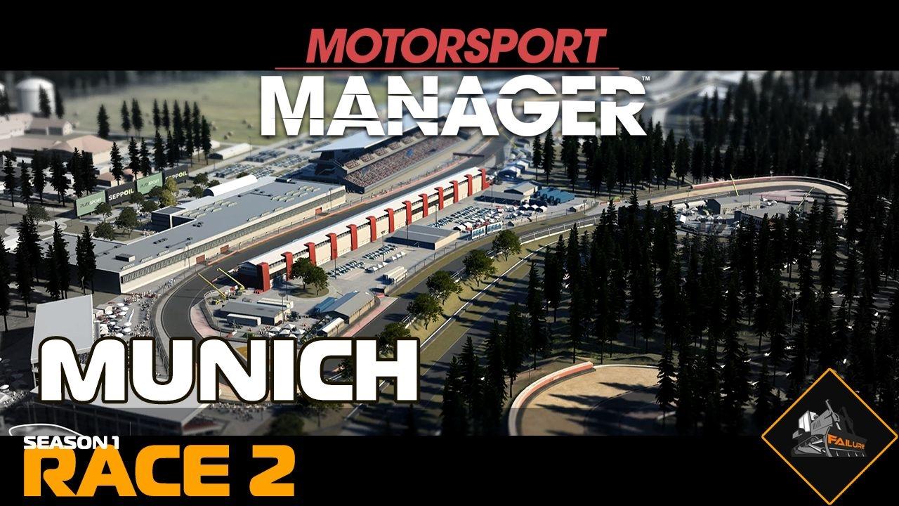 munich grand prix motorsport manager season 1 race 2 youtube. Black Bedroom Furniture Sets. Home Design Ideas
