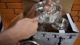 Видео обзор Набора посуды Haus Lux