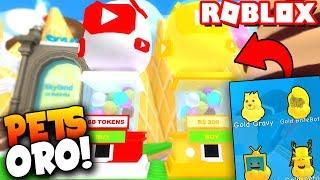 ¡PETS de YOUTUBERS Y MUCHO MAS! - Roblox: Simulador de Helados