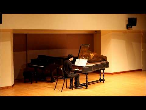 (Middle Eastern Cuisine) for Harpsichord  By Rizgar Ismael Played Wesley Shen