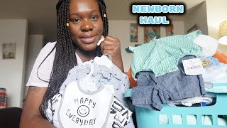HUGE Newborn Haul [Baby Boy]