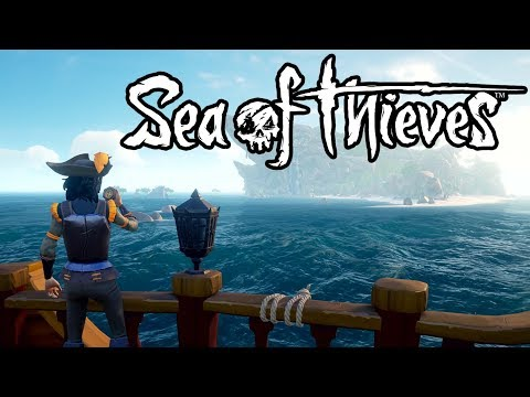 SEA OF THIEVES FULL RELEASE GAMEPLAY \\ PVP & TREASURE STEALING