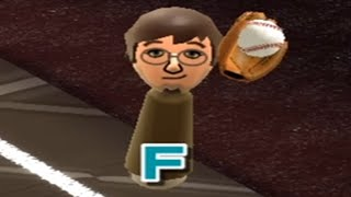 i modded my wİi sports to play baseball at insane difficulty