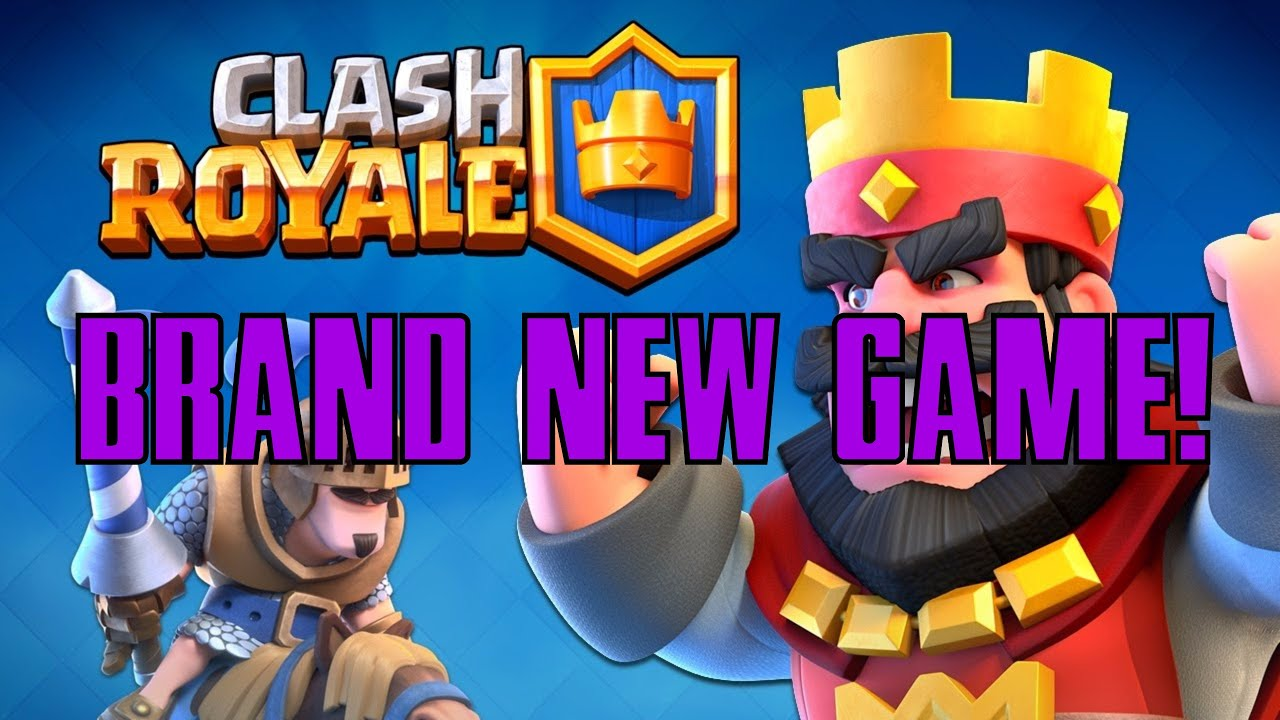 CLASH ROYALE! | BRAND NEW GAME BY SUPERCELL! | EPIC ...