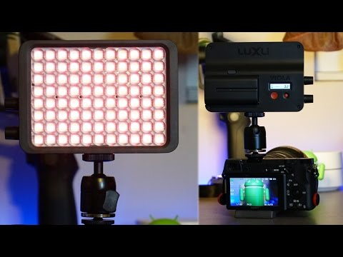 Luxli Viola - One of the BEST On-Camera Lights!