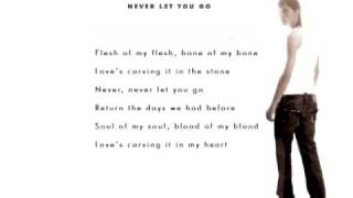 Dima Bilan - Never Let You Go (Lyrics)