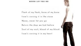 Dima Bilan Never Let You Go Lyrics