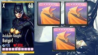 Arkham Knight Batgirl W/ 3 CLOAKS OF DESTINY!