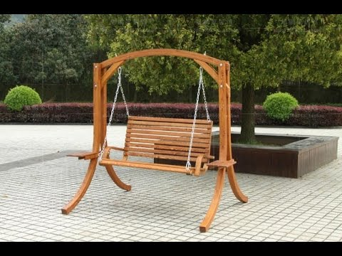 outdoor wooden rocking chairs youtube