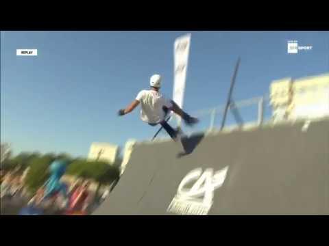 Florian Petitcollin - Roller Slopestyle Fise World Montpellier 2017