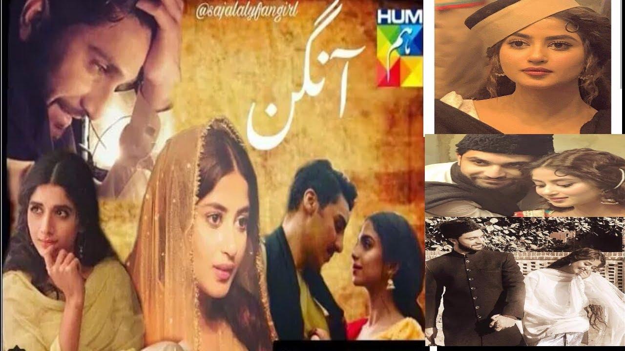 Aangan upcoming Hum Tv Drama-BTS-Sajal ali-ahad raza mir-ahsan khan-soniya  hussain