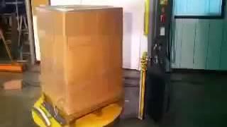 膠膜包裝棧板機/裹膜機-月台式自動-AP360