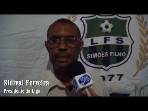 Esporte News Apresentação da Seleção de Simões Filho