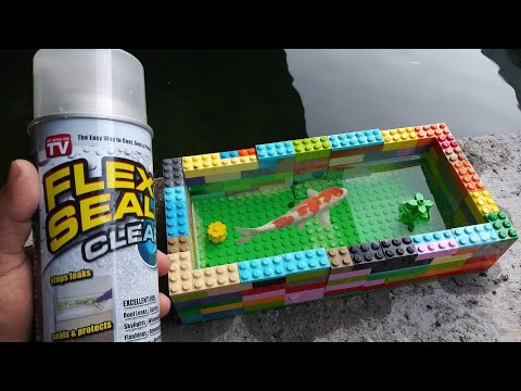 LEGO FLEX SEAL Fish POND! DIY