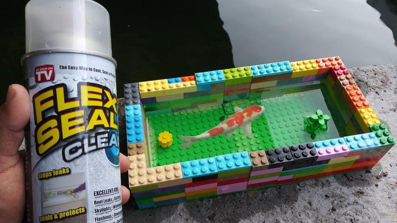 LEGO FLEX SEAL Fish POND DIY YouTube