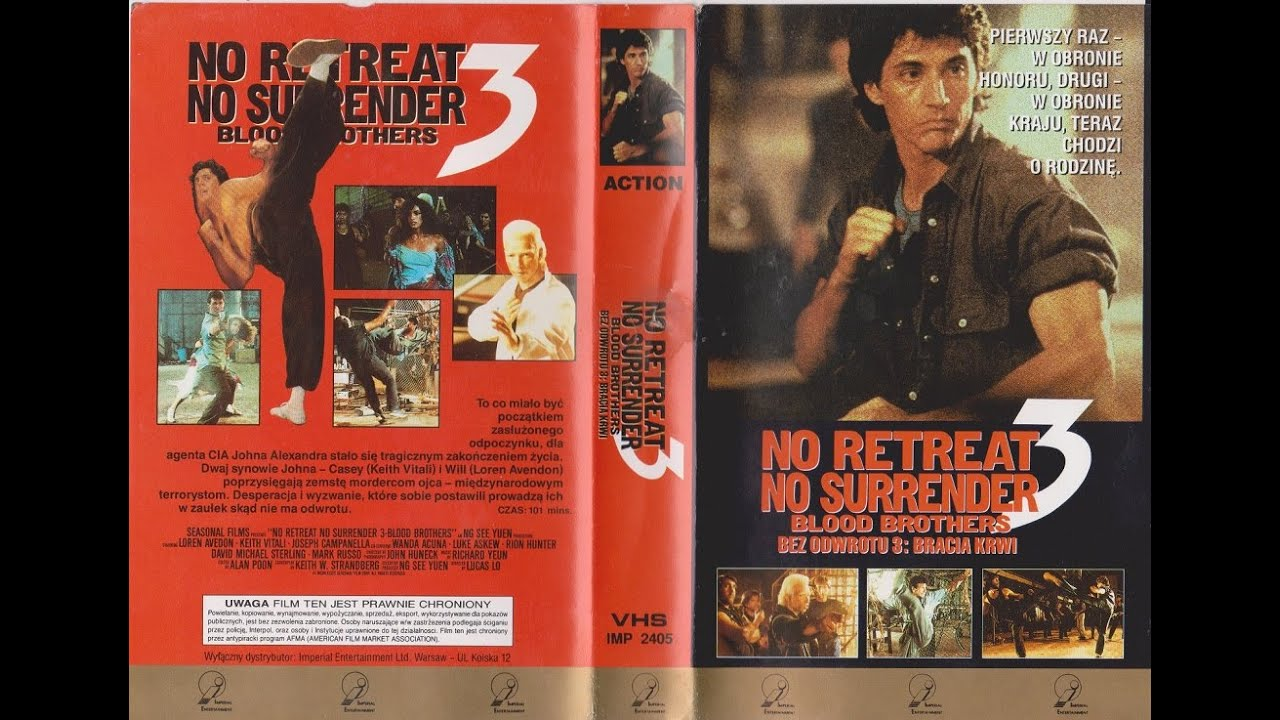 Download No Retreat No Surrender 3: Blood Brothers (1990)