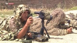Türkiye'nin keskin nişancıları hedefi tek atışta vuruyor