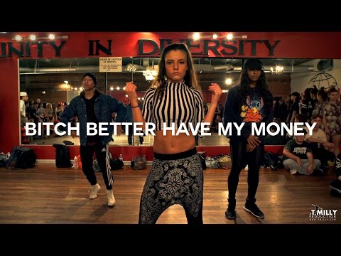 Rihanna - Bitch Better Have My Money - Choreography by Trici