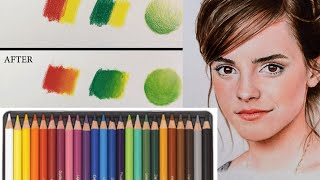 BEST WAY TO BLEND COLORED PENCILS!!