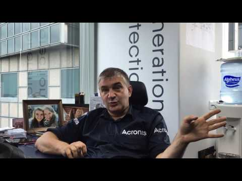 iTWire: Serguei Beloussov talks Blockchain with Alex Z-R prior to the Acronis announcement
