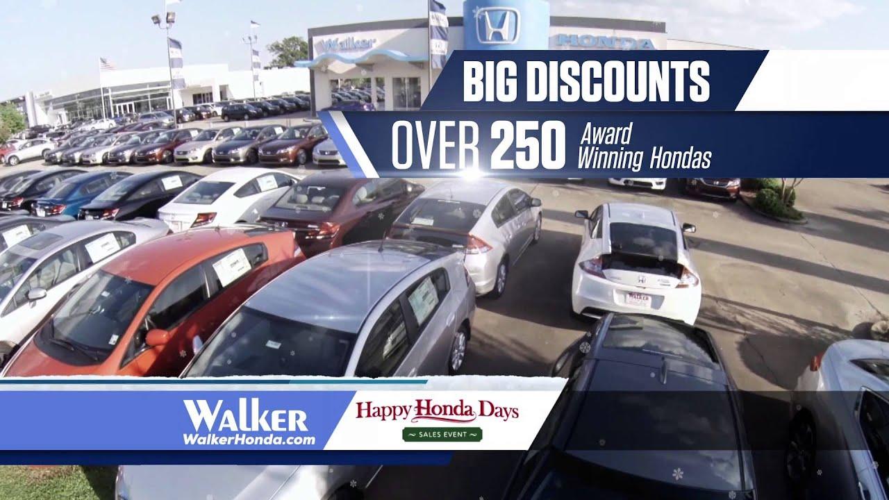 Walker Honda - 2015 Happy Honda Days - YouTube