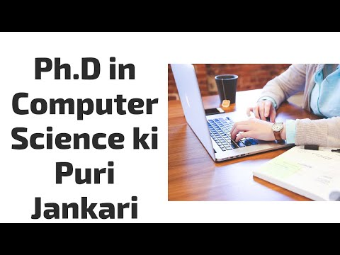 Ph.D In Computer Science Course Details In Hindi