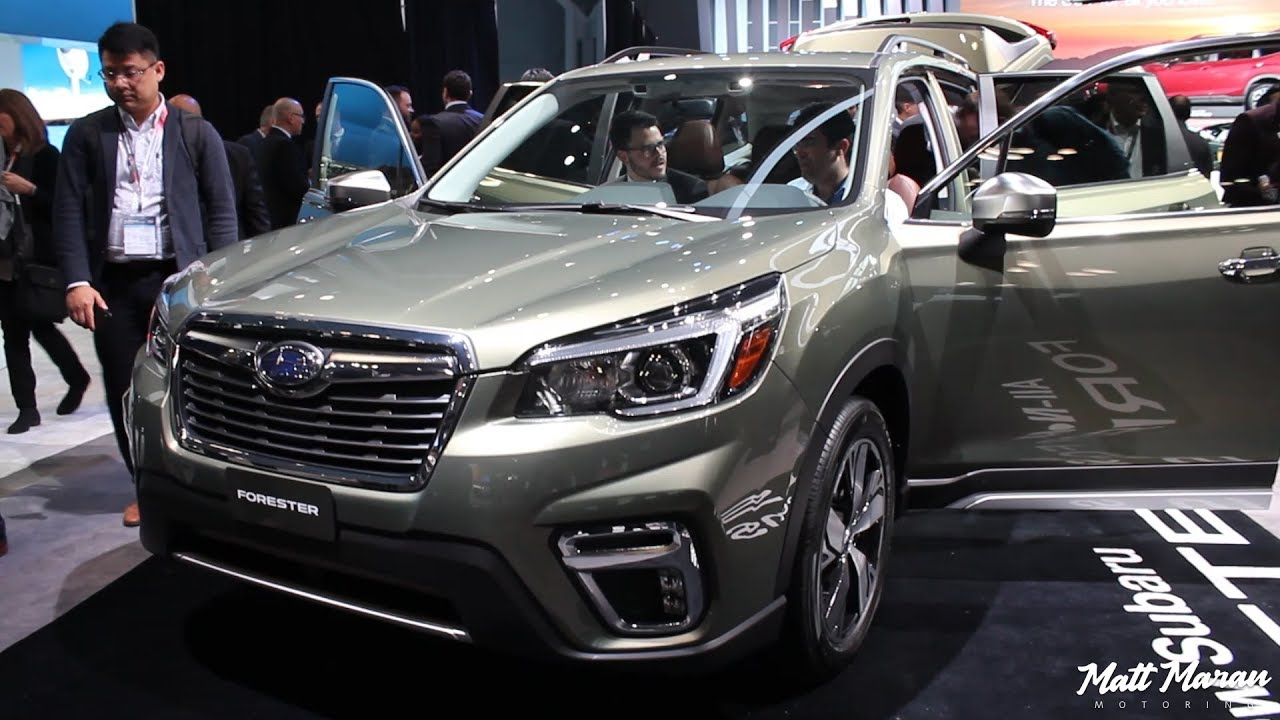 2019 Subaru Forester Close Up Look Sport And Touring