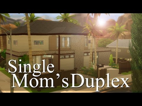 The Sims 4 | Builds For You: Single Mom's Duplex