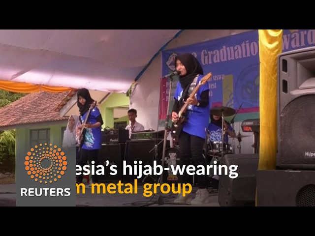 Muslim women metal group smashes stereotypes in Indonesia