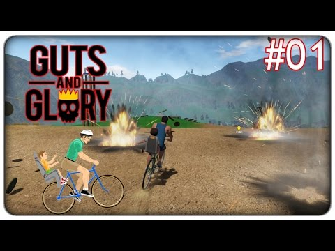 HAPPY WHEELS IN 3D??? | Guts and glory - ep. 01 [ITA]