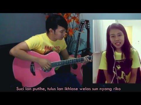 (Demi/Suliyana) Edan Turun - Nathan Fingerstyle & Alea Wang [ Banyuwangi ]