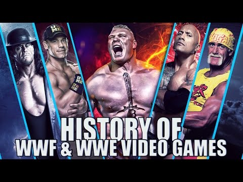 History of WWF & WWE Video Games...