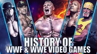History Of Wwf & Wwe Video Games 1987-2017
