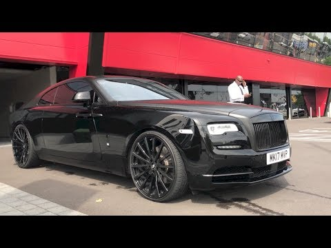 My New 2017 Black Rolls Royce Wraith on Forgiato's