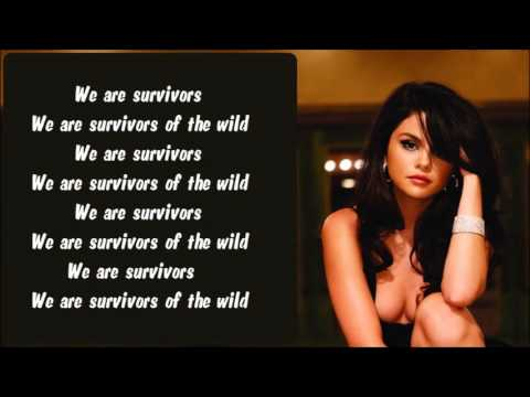 Selena Gomez - Survivors Karaoke / Instrumental with lyrics on screen